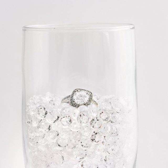 Our glass is always half full! This sparkling beauty ishellip