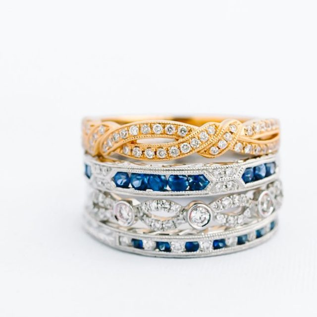 Decisions decisions! Picking the perfect wedding band is almost ashellip