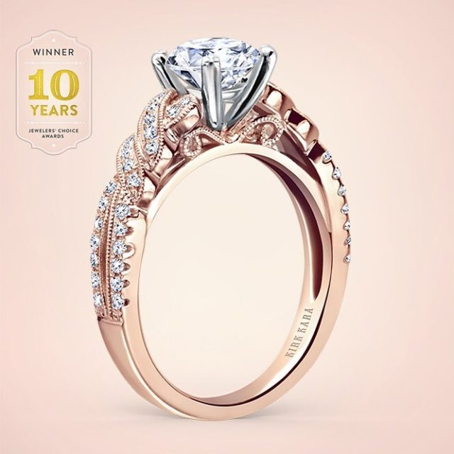 8 is great! This rose gold beauty from our gracefulhellip