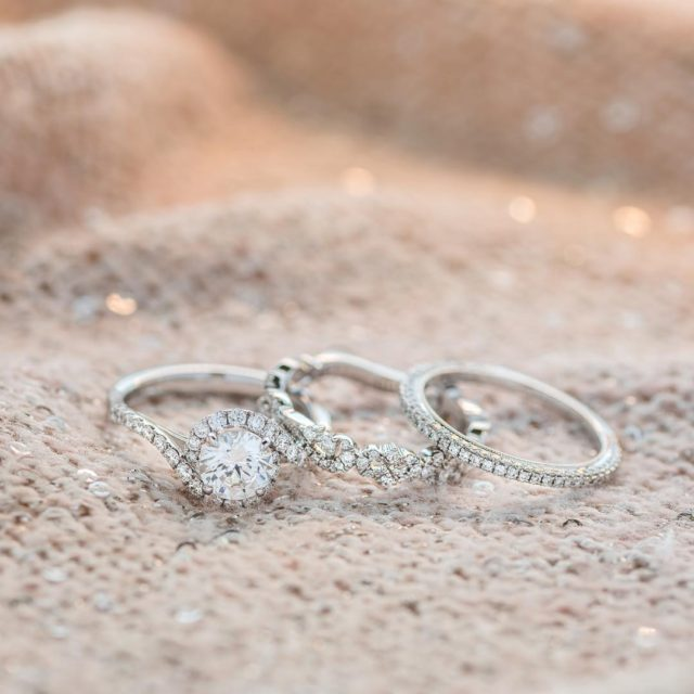 Were smitten with this delicate trio  They add timelesshellip