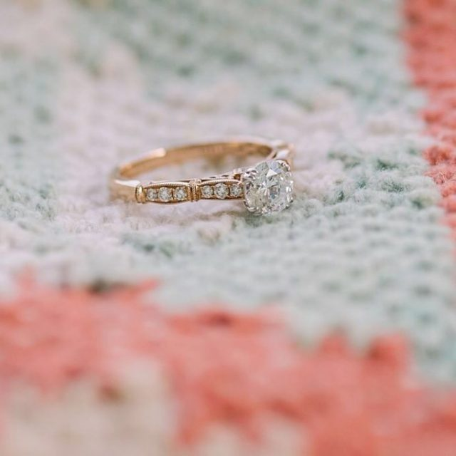 How dreamy is this rose gold beauty from the Stellahellip