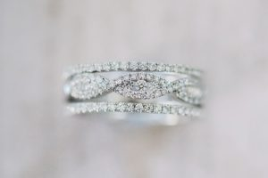 Stunning white gold and diamond engagement ring from the Pirouetta collection by Kirk Kara
